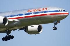 N767AJ - 33539 - American Airlines - Boeing 777-223ER - 100617 - Heathrow - Steven Gray - IMG_4139
