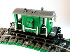 Brake Van - new steps (gambort) Tags: lego brake van lms 20t