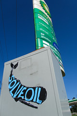 SOLVE OIL (Bonus Saves) Tags: street usa streetart art michigan sperm oil whale kalamazoo bp bonussaves