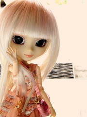 Hi there ! ~ (Rainbow Magical Orchestra ) Tags: hello cute sanrio melody there ren hi pullip custom my