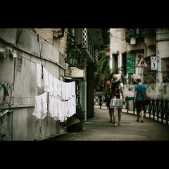 (_kuri) Tags: china colour digital 50mm nikon d 14 laundry af  macau stroll 2010 passepartout    d90