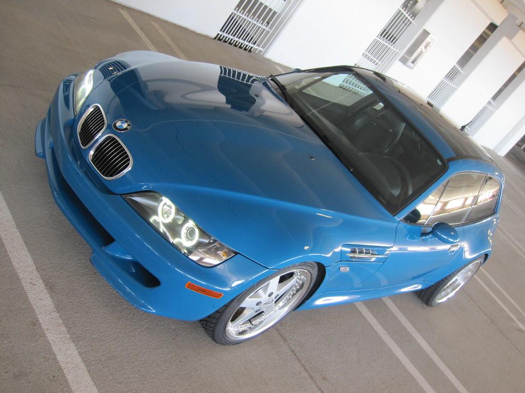 2002 M Coupe Laguna Seca Blue Black Coupe