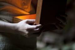 Pandora's Box (felmarah) Tags: portrait box glowing pandora curiosity mythology pandoras