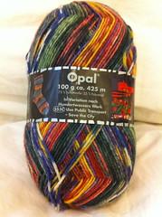 Hundertwasser sock yarn