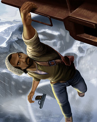 Zak (Jessica On Paper) Tags: photoshop digitalpainting videogames gaming uncharted nathandrake uncharted2