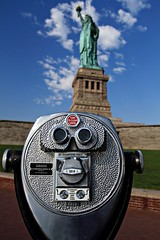 Turn to clear vision. (WeeLittlePiggy) Tags: new york liberty focus statueofliberty nycnynewyorkcity
