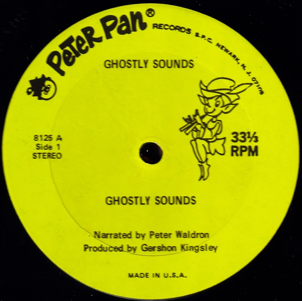 Ghostly Sounds Peter Pan label