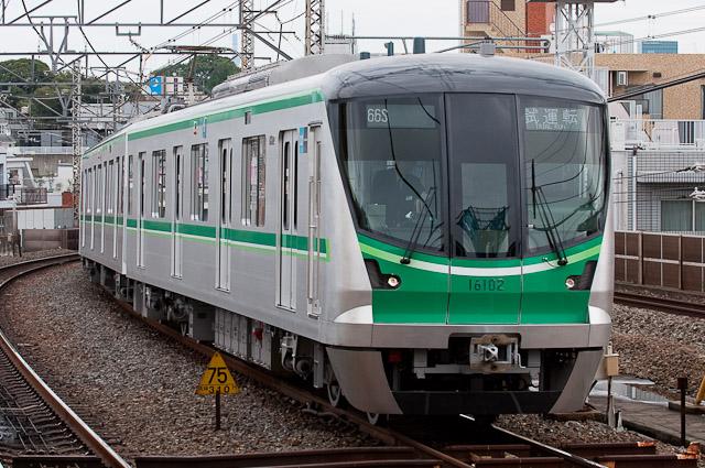 東京メトロ千代田線16000系16102F 試運転