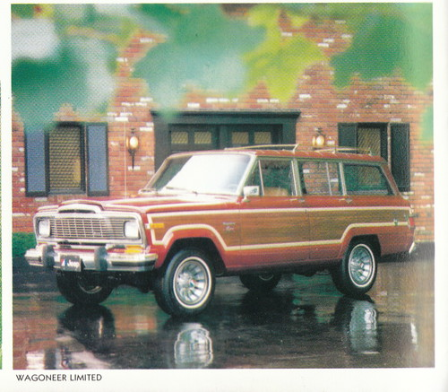 1980 Jeep Wagoneer Limited. 1980 Jeep Sales Brochure