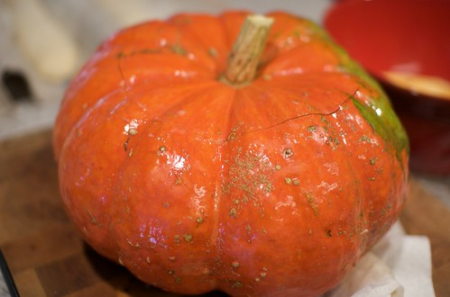 Cinderella Pumpkin for Risotto