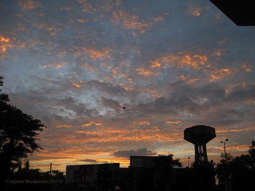 Morning Glow from Sylhet Station