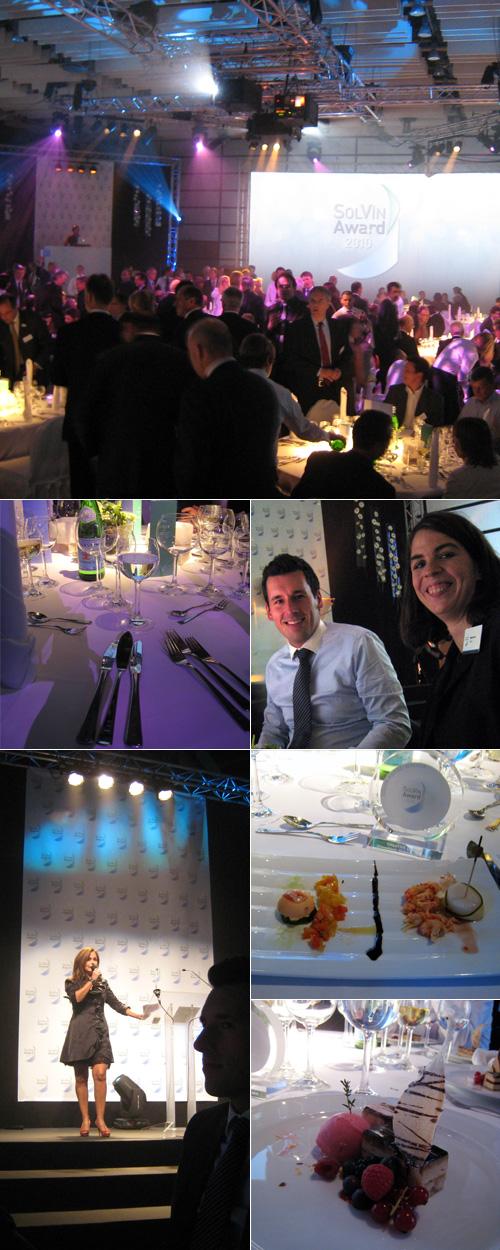 Diner et remise des prix Solvin 2010