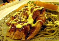 Tori Pesto Spaghetti