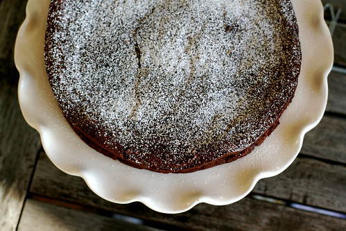 Chipotle Flourless Chocolate Cake