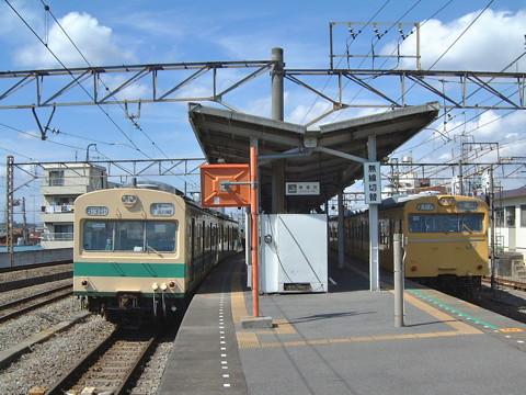 国鉄101系@尻手駅