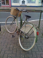 Nice old Dutch Look bike in Moorland Road, Bath