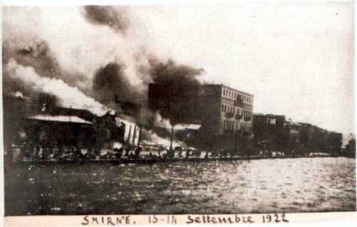 İzmir yanıyor. 13-14 Eylül 1922