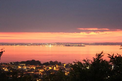 primo tramonto novembrino