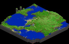 Minecraft Pixel Map by Andrew Mason