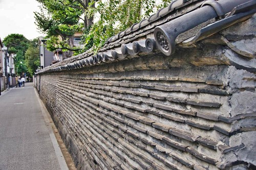 Earthen walls, Yanaka district