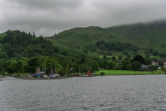 Ullswater, Cumbria (joanjbberry) Tags: ullswater cumbria lakedistrict ullswatersteamers lake mountains water trees countryside boat boattrip steamer yachts