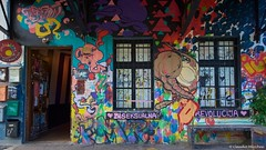 IMGP2240 (Claudio e Lucia Images around the world) Tags: metelkova mesto ljubljana lubiana streetart street art murales tag graffiti decoration colors squat sigma