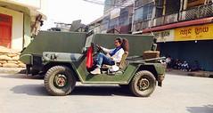 Reaksmey Yean on Jeep (REAKSMEY Yean – GEORGE) Tags: firsttheykilledmyfather reaksmeyyean angelinajolie battambang