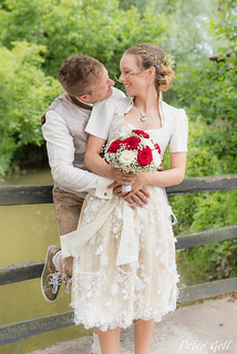 Wedding, at the bridge