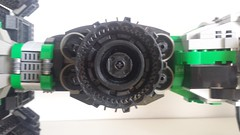 Jabba the Hutt's TIE Fighter - Ion intake (Evilkirk) Tags: starwars lego jabba hutt tie fighter moc