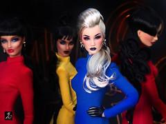 The KD Queens (kingdomdoll) Tags: kingdomdoll kingdom doll queen queens couture resinfashiondoll fashiondoll marconi bumblebee ladybird