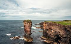 EROSION (Dan ODonnell) Tags: orkney scotland landscape coastal coast cliff man human travel road trip adventure stack sea erosion dan odonnell