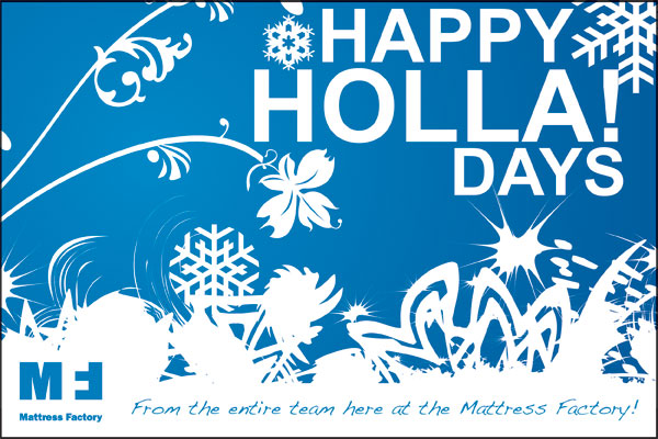 Happy Holla! Days from all of us here at the MF!