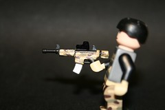 M4A1 with multicam and EO Tech Holosight (kenneth nielsen a.k.a Qenhyt) Tags: 2 modern mod call paint with lego tech military glue duty ba eo warfare multicam m4a1 mw2 of brickarms holosight