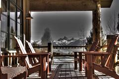 HD Dunn & Son Angus ranch (Jehren) Tags: mountains deck tetons hdr driggs tetonia