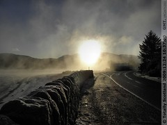 Corran Narrows freezing fog