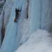 Matthias Ruh ice climbing