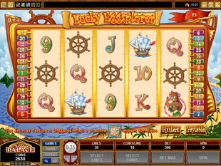 Lucky Eggsplorer slot game online review