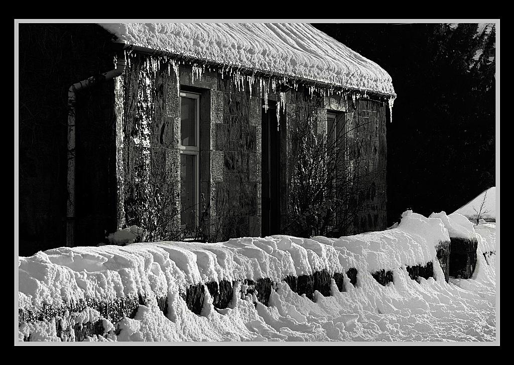 Iceicles in Glenfarg