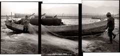 chen (busyliner) Tags: bw slr film pen coast triptych hc110 olympus f lucky epson 135 halfframe ningbo  fv v500  selfdevelop  blackwhitephotos