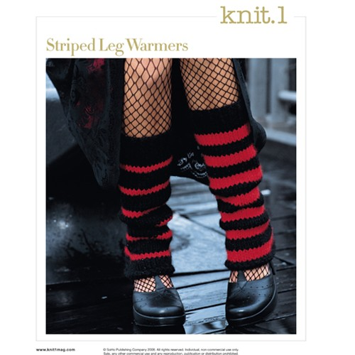 Free Knitting Pattern: Leg Warmers - A Little Homie