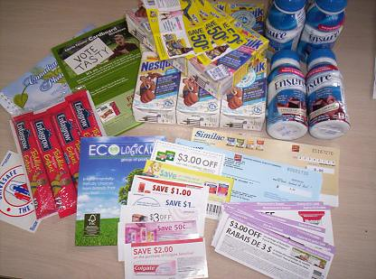 picture of FREE Manufacturers Coupons