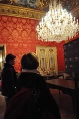 Recreation of Napoleon's House (Colleen AF Venable) Tags: trip travel vacation paris france art museum europe meghan louvre tourist journey curt museums parisfrance thelouvre oldmuseum meghandaly curtfranklin paris2009