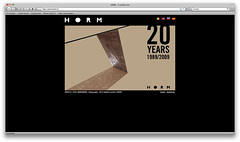 HORM 20yrs website intro #03