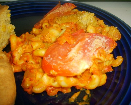 Cheesy Tomato Macaroni3