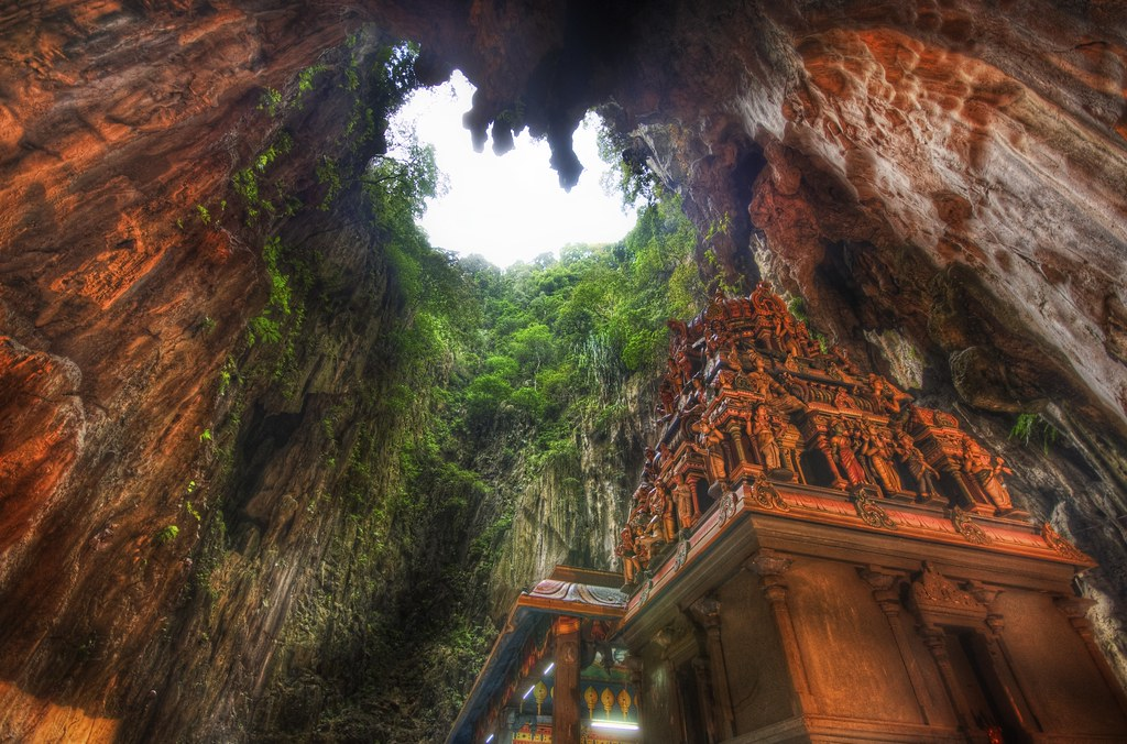 The Temple Deep in the Caves