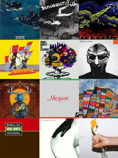 top 12 albums