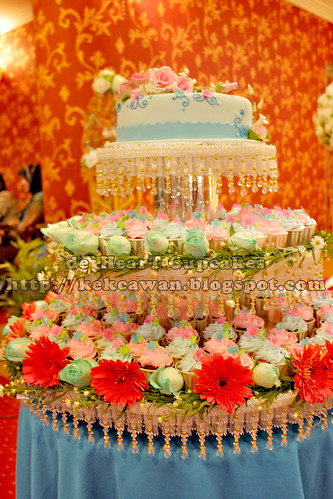 Wedding Tower for Radzalina & Syed Nadwi, Dewan Risda, KL - 14 Nov 2009