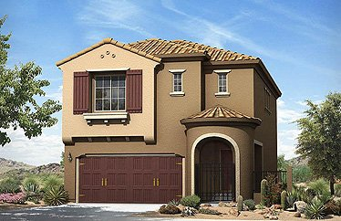 home at Villa Trieste (by: Summerlin via Las Vegas Home Agent)