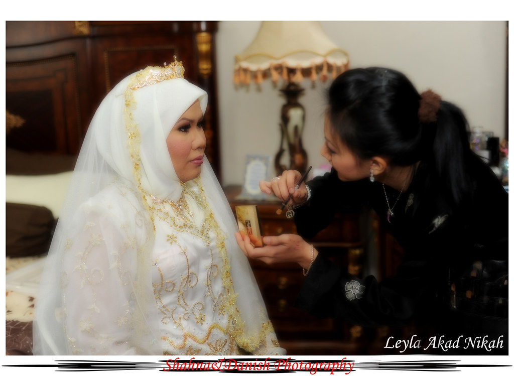 Akad Nikah Leyla