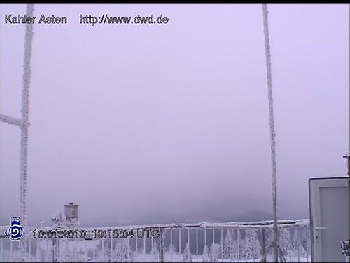 Bevroren mist geeft mooi effect!